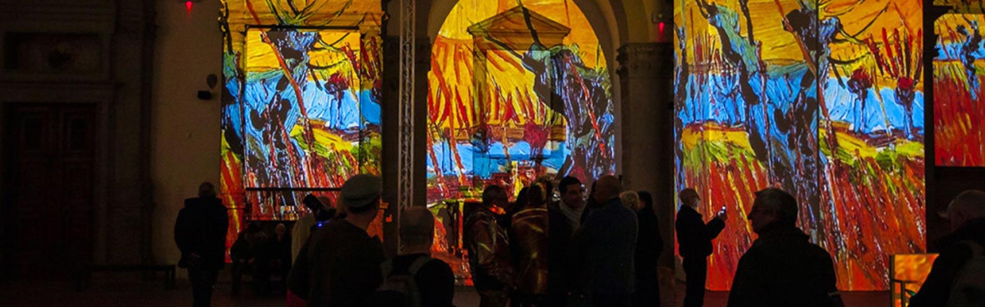 Van Gogh Alive – Welcome to Grande Exhibitions